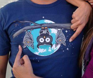 Owls Bats T Shirt